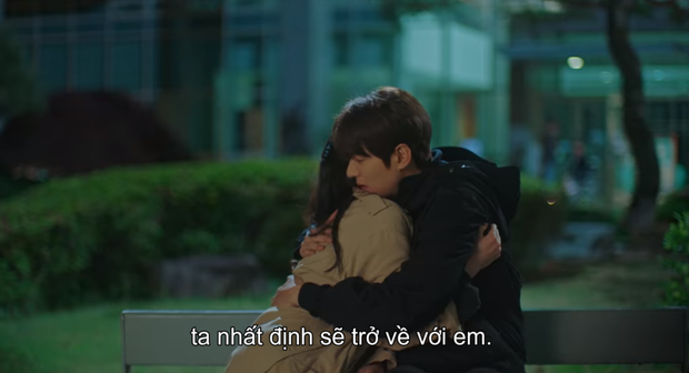 Thính xịn hơn cả hôn cổ, Lee Min Ho ôm ấp dính chặt Kim Go Eun không rời ở tập 15 Quân Vương Bất Diệt - Ảnh 10.