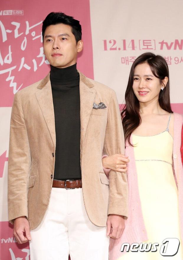 """""""Đào"""" lại khoảnh khắc Hyun Bin - Son Ye Jin ở họp báo Hạ cánh nơi anh: Lên tiếng về chuyện hẹn hò, đạo diễn còn ship nhiệt tình! - Ảnh 2."""