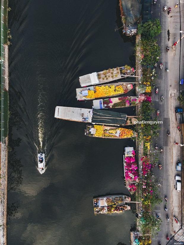 """Không tin vào mắt mình trước bộ ảnh chụp Sài Gòn từ trên cao đang """"gây bão"""" MXH: Xem hình, bạn đoán được đúng tên bao nhiêu địa điểm? - Ảnh 3."""