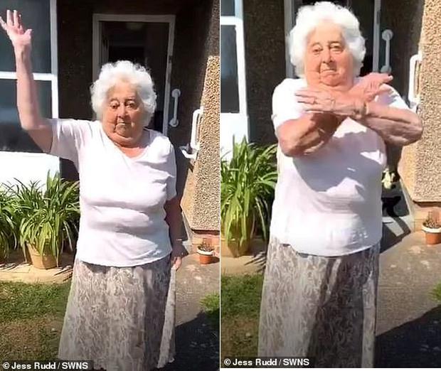 Thể hiện skill chơi bóng thần sầu và nhảy cover siêu đáng yêu, cụ bà 88 tuổi trở thành hiện tượng mạng khiến lớp trẻ cũng phải mê mẩn - Ảnh 3.