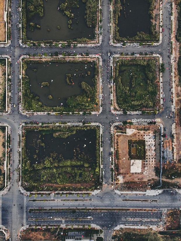 """Không tin vào mắt mình trước bộ ảnh chụp Sài Gòn từ trên cao đang """"gây bão"""" MXH: Xem hình, bạn đoán được đúng tên bao nhiêu địa điểm? - Ảnh 14."""