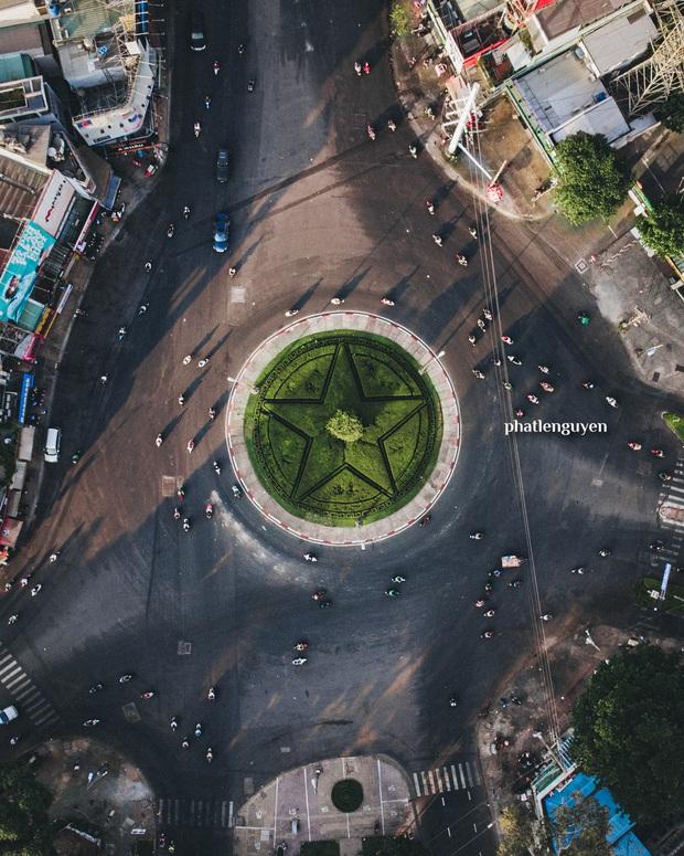 """Không tin vào mắt mình trước bộ ảnh chụp Sài Gòn từ trên cao đang """"gây bão"""" MXH: Xem hình, bạn đoán được đúng tên bao nhiêu địa điểm? - Ảnh 15."""