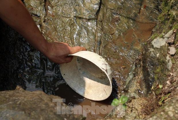 Hạn hán nghiêm trọng, học trò biên giới tan trường lại lặn lội vào rừng tìm nước - Ảnh 1.