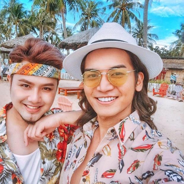 Bạn trai đồng giới công khai xuất hiện tại tiệc sinh nhật bố BB Trần, khoảnh khắc chung khung hình lộ rõ quan hệ thật? - Ảnh 4.