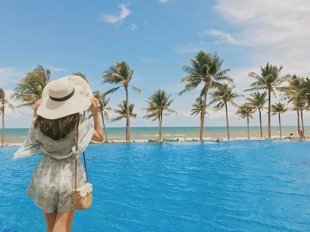 6 resort 5 sao sở hữu hồ bơi độc đáo bậc nhất đảo ngọc Phú Quốc đang có giá rẻ, giảm sâu đến không ngờ: Còn gì tuyệt hơn ngắm hoàng hôn, đắm mình trong làn nước xanh trong vắt - Ảnh 4.