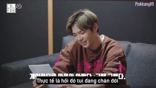 CEO Kang Daniel cười tít cả mắt dù bị nhân viên công ty phũ: Đến giờ vẫn không thích bài hát nào của cậu ấy - Ảnh 2.