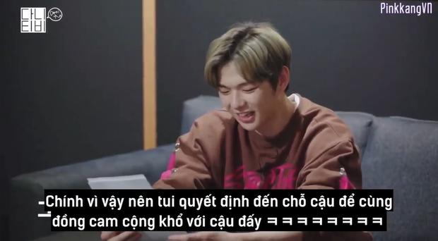 CEO Kang Daniel cười tít cả mắt dù bị nhân viên công ty phũ: Đến giờ vẫn không thích bài hát nào của cậu ấy - Ảnh 3.