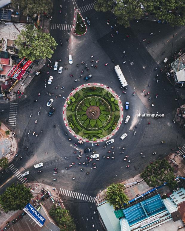 """Không tin vào mắt mình trước bộ ảnh chụp Sài Gòn từ trên cao đang """"gây bão"""" MXH: Xem hình, bạn đoán được đúng tên bao nhiêu địa điểm? - Ảnh 22."""