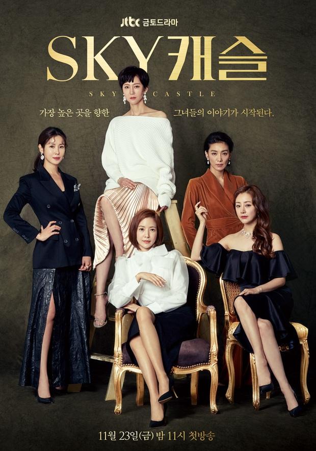 Phim mới của JTBC được netizen ví với SKY Castle và Thế Giới Hôn Nhân, rating sương sương phải 15% - Ảnh 2.
