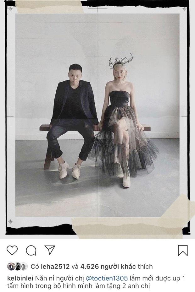 """Ảnh cưới hiếm hoi của Tóc Tiên được bạn thân hé lộ: Quả không hổ danh là cặp vợ chồng """"chất"""" của Vbiz! - Ảnh 2."""