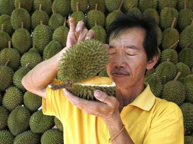 Chị bán sầu riêng 12 năm bật mí 6 bí quyết chọn sầu riêng nhanh - gọn - lẹ để mua trái nào chuẩn trái đó - Ảnh 1.