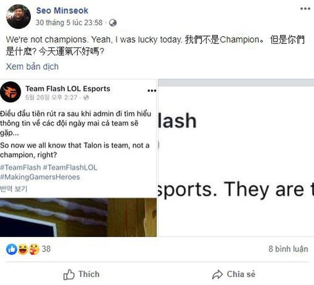 HLV trưởng của Talon Esports lên tiếng xin lỗi Team Flash về hành động lăng mạ đại diện VCS - Ảnh 2.