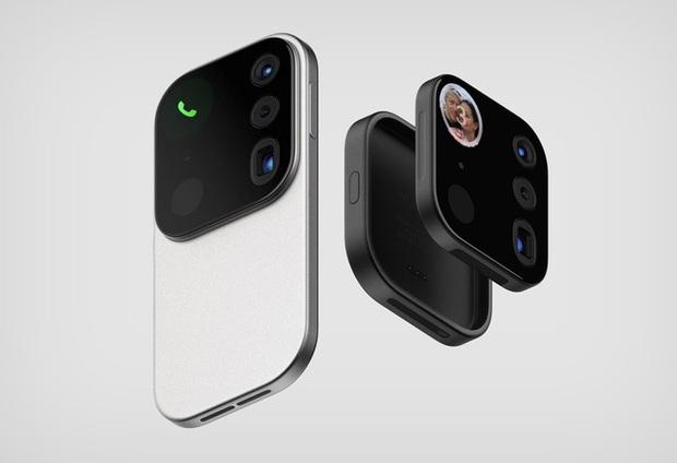 Choáng với thiết kế iPhone điên rồ với cụm camera to tổ chảng như muốn khoe cả thế giới về độ ngầu - Ảnh 1.