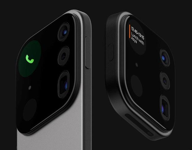 Choáng với thiết kế iPhone điên rồ với cụm camera to tổ chảng như muốn khoe cả thế giới về độ ngầu - Ảnh 5.