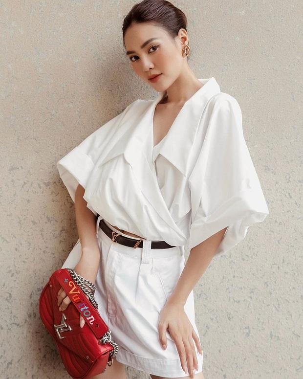 Lan Ngọc luôn bảo toàn được phong độ mặc đẹp nhờ đồ trắng và bạn cũng chỉ xịn đẹp trở lên nếu học theo - Ảnh 6.