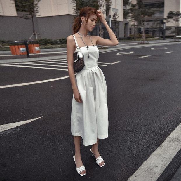 Lan Ngọc luôn bảo toàn được phong độ mặc đẹp nhờ đồ trắng và bạn cũng chỉ xịn đẹp trở lên nếu học theo - Ảnh 7.