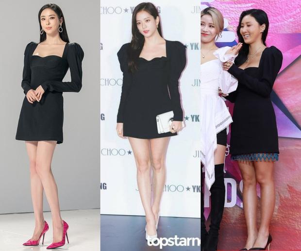 Cùng 1 chiếc váy, Jisoo khéo sửa để che chắn vòng 1 nhưng lại thua Lee Da Hee vì đôi chân cực phẩm không cần photoshop - Ảnh 9.
