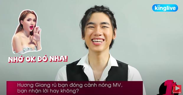 Được hỏi nếu Hương Giang mời đóng cảnh nóng MV có nhận lời không và đây là câu trả lời thẳng thắn đến choáng váng của K-ICM - Ảnh 2.