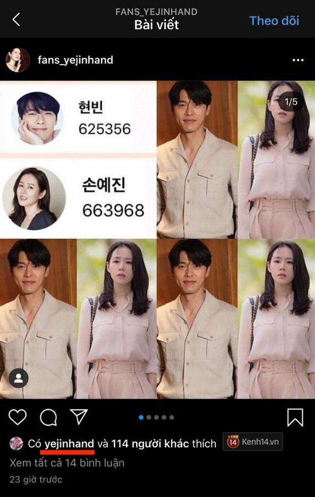 HOT: Giữa đêm Son Ye Jin khiến cả MXH dậy sóng vì bất ngờ sơ ý để lộ dấu hiệu thừa nhận hẹn hò Hyun Bin? - Ảnh 4.