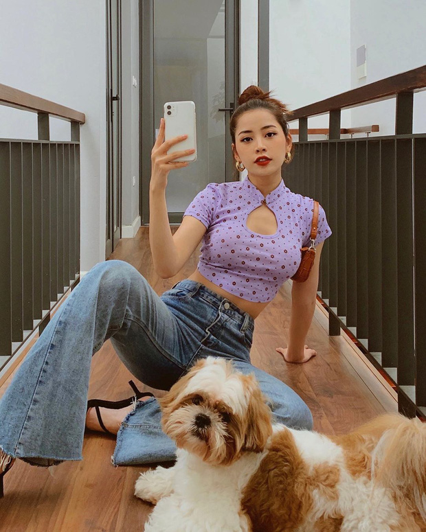 Bóc mác loạt trang phục bình dân của Chi Pu: Toàn đồ local brand Việt giá từ vài trăm mà diện lên sang xịn như hàng hiệu đắt đỏ - Ảnh 3.