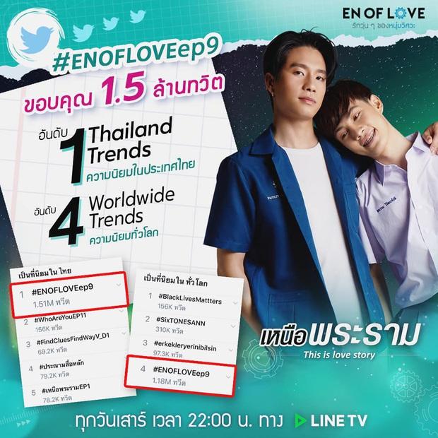 Phim đam mỹ En of Love ra mắt mùa 3, câu chuyện playboy thả thính crush nhưng bị chê sến đạt top 1 trending - Ảnh 6.
