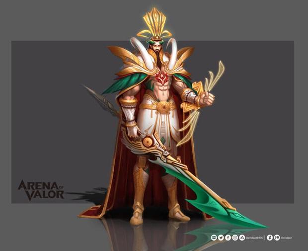 Liên Quân Mobile: Volkath Thánh Gióng còn chưa ra mắt, lại xuất hiện skin Volkath Lạc Thần siêu đẹp, siêu đỉnh! - Ảnh 3.