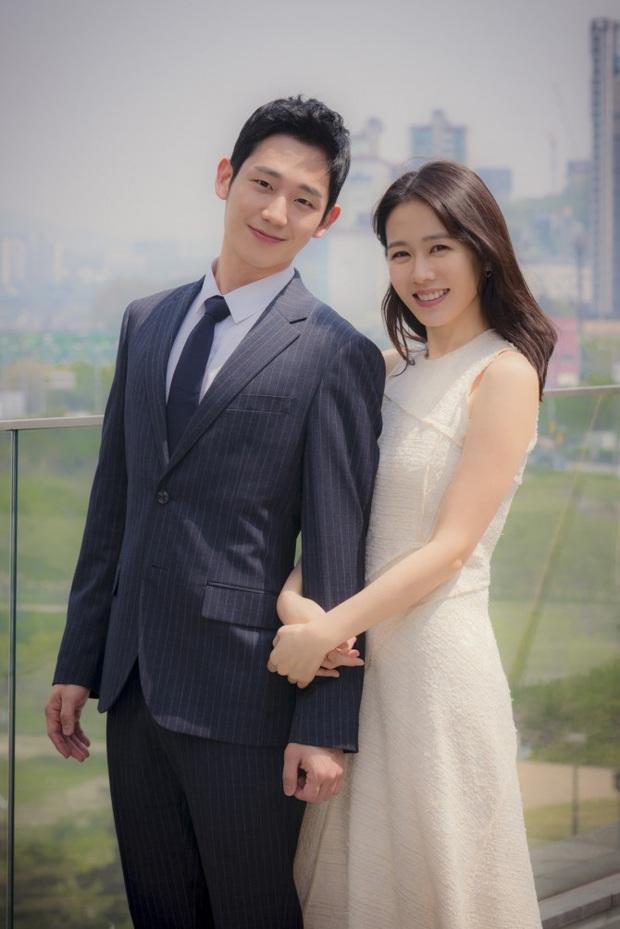 """Jung Hae In cũng ăn cú """"bơ"""" vì đường chân mày của Son Ye Jin từ 2 năm trước: Biểu cảm từ nhăn nhó khó hiểu đến thôi thì chịu vì đã quá quen - Ảnh 3."""