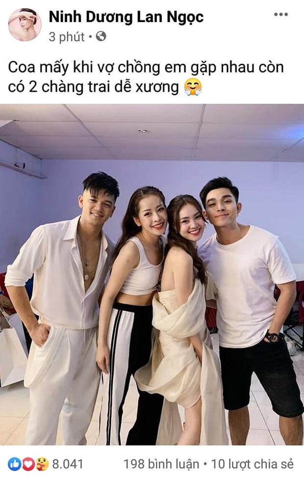 """Đang yên đang lành, Chi Dân bỗng khoe """"độc thân vui tính"""" khiến netizen đặt câu hỏi chuyện tình cảm với Ninh Dương Lan Ngọc - Ảnh 2."""