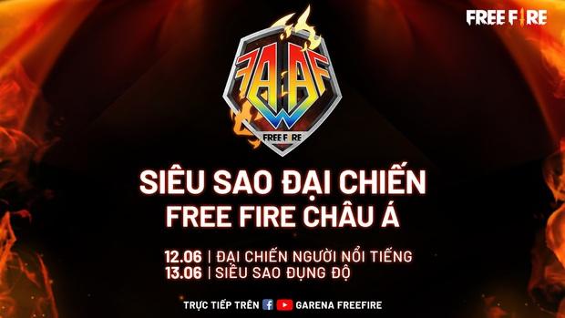 Đại chiến siêu sao Free Fire châu Á sắp khởi tranh, toàn những cái tên máu mặt tham gia - Ảnh 1.