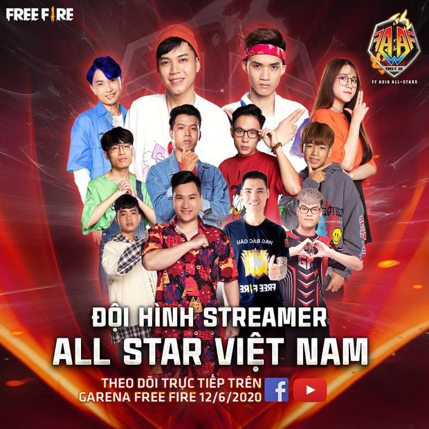 Đại chiến siêu sao Free Fire châu Á sắp khởi tranh, toàn những cái tên máu mặt tham gia - Ảnh 2.