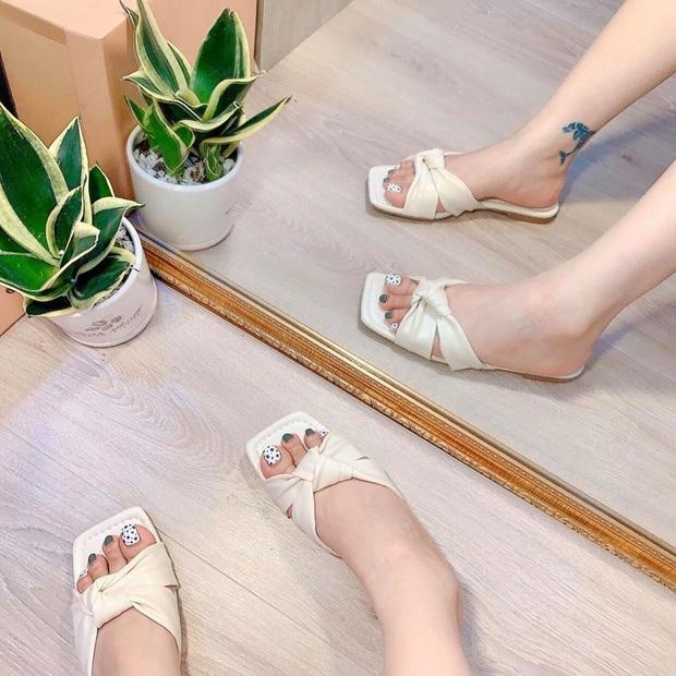 Sandals mũi vuông sang chảnh đang gây sốt, đây là 5 shop giày cực xinh giá từ 200k để bạn kiếm ngay cho mình một đôi ưng ý - Ảnh 21.