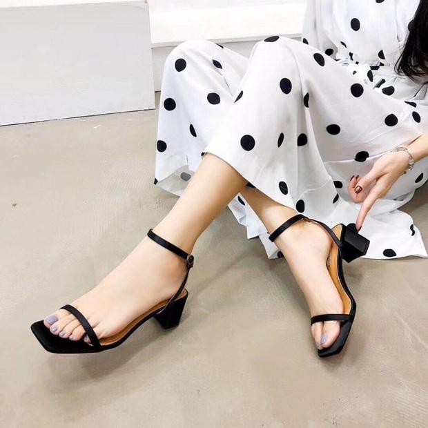 Sandals mũi vuông sang chảnh đang gây sốt, đây là 5 shop giày cực xinh giá từ 200k để bạn kiếm ngay cho mình một đôi ưng ý - Ảnh 22.