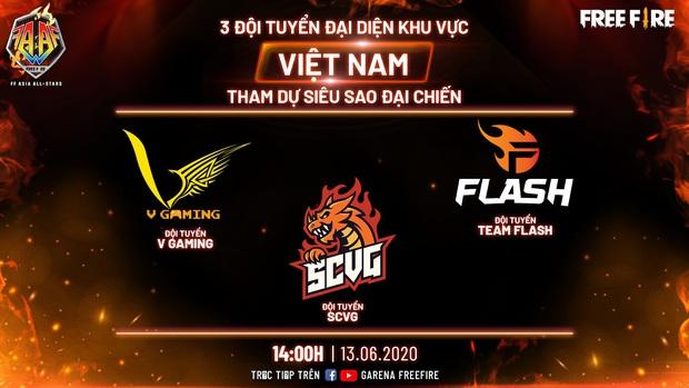 Đại chiến siêu sao Free Fire châu Á sắp khởi tranh, toàn những cái tên máu mặt tham gia - Ảnh 4.