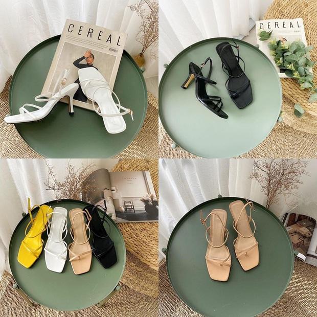 Sandals mũi vuông sang chảnh đang gây sốt, đây là 5 shop giày cực xinh giá từ 200k để bạn kiếm ngay cho mình một đôi ưng ý - Ảnh 26.