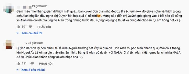 Song ca cover hit Bích Phương, Alan Phạm được so sánh với Erik, Vũ Thanh Quỳnh lại khiến dân tình nức nở vì combo nhan sắc, giọng hát ngất ngây - Ảnh 4.