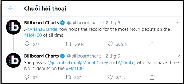 Chưa phát hành một album nào trong năm 2020 nhưng nữ nghệ sĩ này đã bỏ túi sương sương 4 kỷ lục chưa từng có trên BXH Billboard Hot 100 - Ảnh 3.