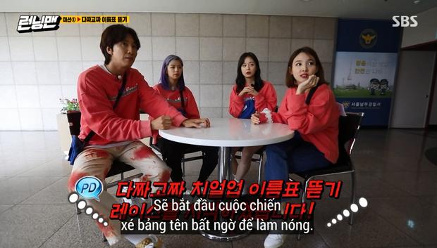 Song Ji Hyo lại bị Running Man đối xử bất công, cho lên sóng mỗi... cái tay áo? - Ảnh 4.