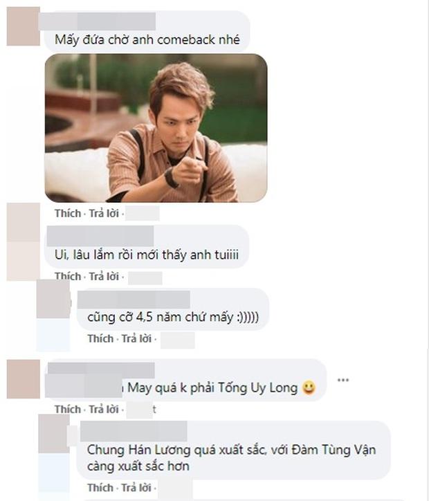 Đá bay tiểu thịt tươi Tống Uy Long, nam thần ngôn tình Chung Hán Lương sánh đôi bên Đàm Tùng Vận ở phim mới - Ảnh 6.