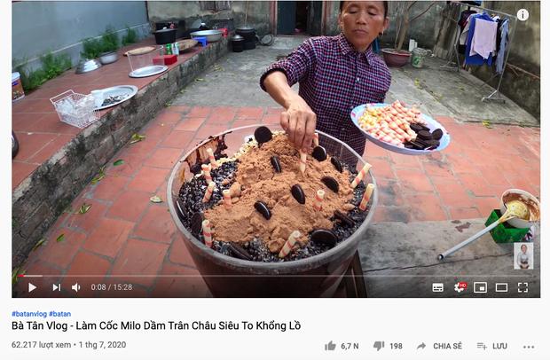 Bà Tân tung video làm cốc milo dầm trân châu cầu kỳ nhất Việt Nam, tự nhận mắc một sai lầm nhỏ khiến món ăn kém hoàn hảo - Ảnh 1.