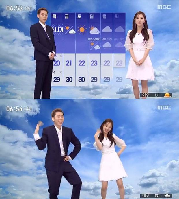 Loạt sao Hàn bỗng lên truyền hình quốc gia dẫn thời sự: Lee Seung Gi - Dahyun (TWICE) chưa độc bằng thánh hit Zico - Ảnh 9.