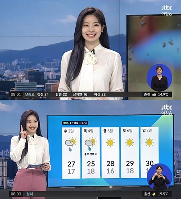 Loạt sao Hàn bỗng lên truyền hình quốc gia dẫn thời sự: Lee Seung Gi - Dahyun (TWICE) chưa độc bằng thánh hit Zico - Ảnh 8.