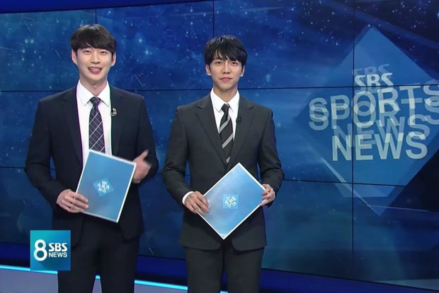 Loạt sao Hàn bỗng lên truyền hình quốc gia dẫn thời sự: Lee Seung Gi - Dahyun (TWICE) chưa độc bằng thánh hit Zico - Ảnh 2.
