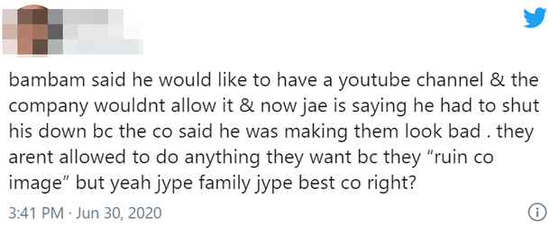 """JYP tuyên bố """"có hiểu lầm"""" khi bị thành viên Day6 tố phân biệt đối xử, fan vẫn chỉ trích vì từ ca sĩ solo cho đến thành viên TWICE, GOT7 đều chịu bất công - Ảnh 9."""