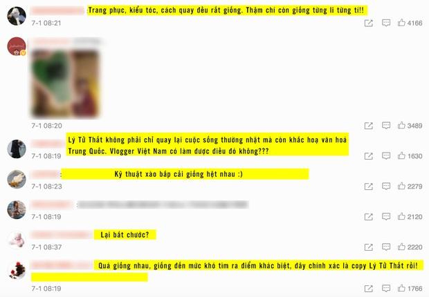 """Nghi vấn một kênh Youtube ẩm thực của Việt Nam """"đạo nhái"""" Lý Tử Thất bị netizen Trung Quốc lên án gay gắt, lọt hẳn top 1 tìm kiếm weibo - Ảnh 3."""