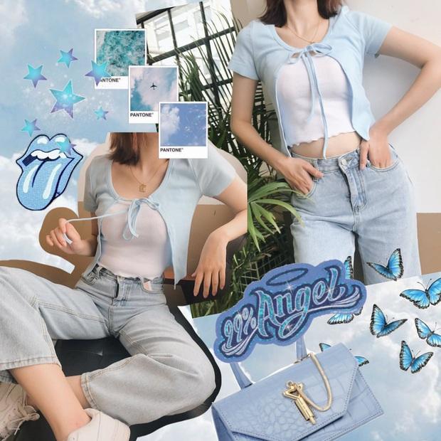 """Ngoài áo phông, vẫn có 11 kiểu áo mix cùng quần jeans """"auto"""" xịn đẹp, xem xong là chị em sẽ thấy cả chân trời mới - Ảnh 11."""