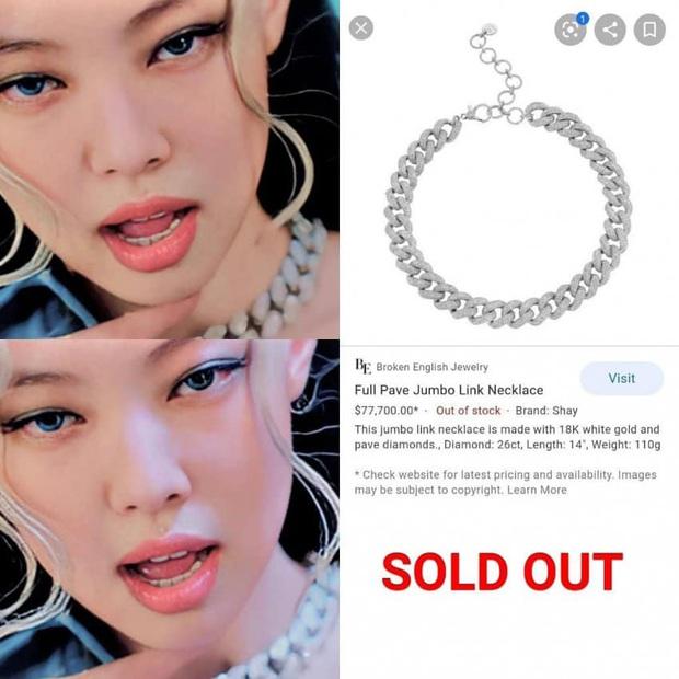 Fan Jennie đỉnh số 2 không ai số 1: Sẵn sàng chi 1,8 tỷ để mua dây chuyền đu theo idol dù MV mới ra chưa đầy 1 tuần! - Ảnh 2.