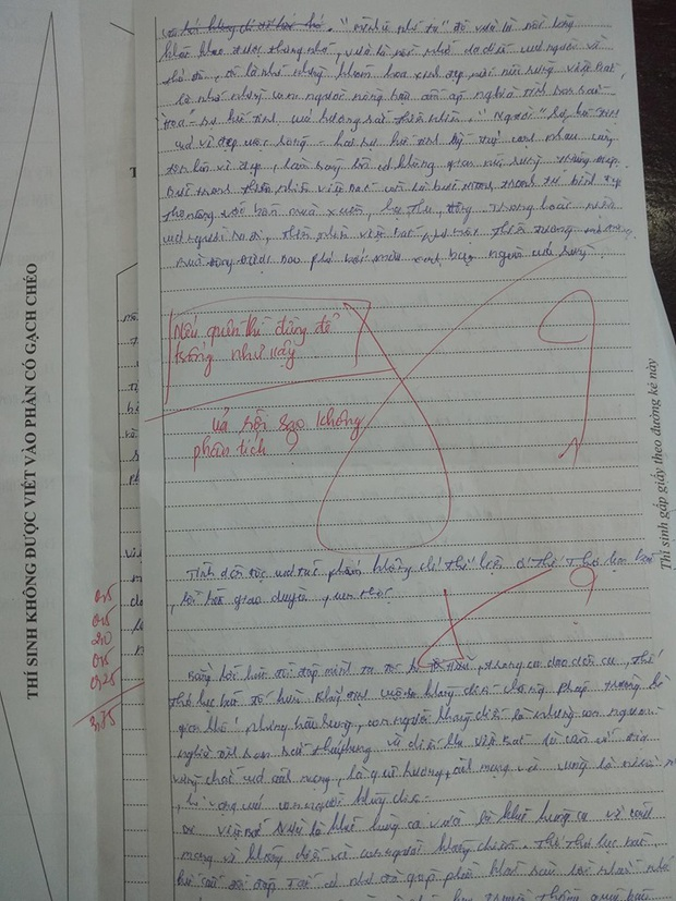 Những pha chọc ngoáy học sinh bằng lời phê cực chất của giáo viên: Thánh cà khịa là đây chứ đâu! - Ảnh 8.