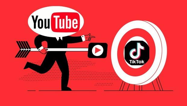 Youtube ngầm tuyên chiến TikTok khi ra mắt tính năng làm video ngắn bắt chước y hệt đối thủ - Ảnh 1.