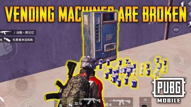 PUBG Mobile đem cả máy bán nước tự động vào trong game - Ảnh 1.