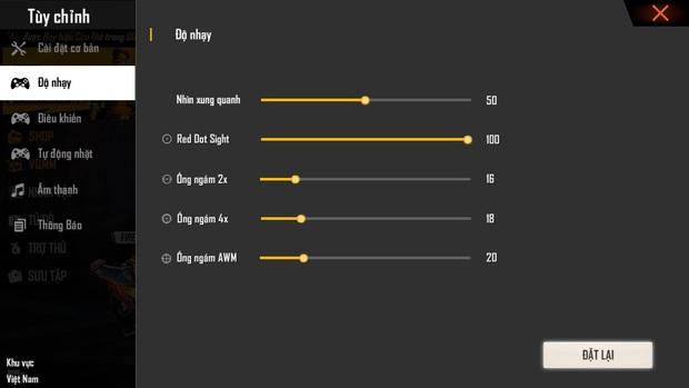 Free Fire: Hướng dẫn cài đặt độ nhạy tốt nhất cho những cú headshot, Booyah chỉ còn là chuyện nhỏ - Ảnh 1.